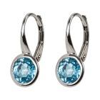 Ohrhänger 925 Swiss Blue Topas behandelt - 14903200000 - 1 - 140px