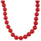 Collier Muschelkernperle rot, mit Federring - 14934600000 - 1 - 140px
