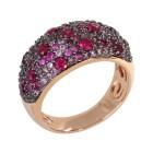 Ring Bronze rosévergoldet Zirkonia Gr. 20 - 14995610404 - 1 - 140px
