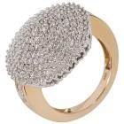 Ring 585 Gelbgold, Diamanten Gr. 17 - 15012310201 - 1 - 140px