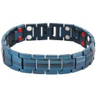 Armband Titan blau, mit Magneten