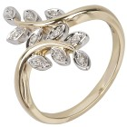 Ring 375 Gelbgold Diamanten Gr.19 - 15030210303 - 1 - 140px