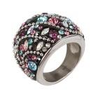 Ring Edelstahl Kristalle Gr. 18 - 15032910401 - 1 - 140px
