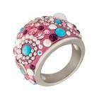 Ring Edelstahl Kristalle Gr. 18 - 15033010302 - 1 - 140px