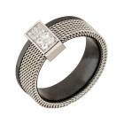 Ring Edelstahl, Keramik Zirkonia Gr. 19 - 15036010302 - 1 - 140px