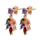 Ohrhänger 925 St. Silber rosévergoldet Zirkonia - 15046100000 - 1 - 140px