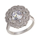 Ring 925 Sterling Silber Zirkonia Gr.19 - 15102810402 - 1 - 140px
