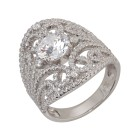 Ring 925 Sterling Silber Zirkonia Gr.20 - 15103010403 - 1 - 140px