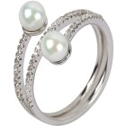 Ring 925 Sterling Silber Süßwasserzuchtperle Gr.19 - 15103210302 - 1 - 140px