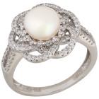Ring 925 Sterling Silber Süßwasserzuchtperle Gr.19 - 15103810302 - 1 - 140px