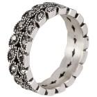 Ring Edelstahl Markasit Gr. 20 - 15106910303 - 1 - 140px