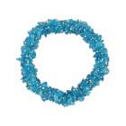 Armband Blauer Apatit ca. 20 cm