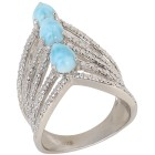 Ring 925 Sterling Silber Larimar   - 15112200000 - 1 - 140px