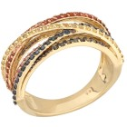 STAR Ring 585 Gelbgold Saphir multicolor   - 15115200000 - 1 - 140px
