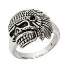 Ring 925 St. Silber Indianertotenkopf Gr. 22 - 15118510505 - 1 - 140px