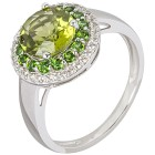 Ring 925 Sterling Silber Peridot   - 15128400000 - 1 - 140px