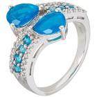 Ring 925 Sterling Silber Äthiopischer Opal Gr.17 - 15134710401 - 1 - 140px