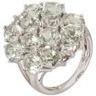 Ring 925 Sterling Silber Prasiolith