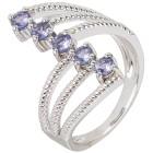 Ring 925 Sterling Silber Tansanit Gr.19 - 15137610302 - 1 - 140px