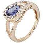Ring 585 Gelbgold AAATansanit, Saphir   - 15139800000 - 1 - 140px