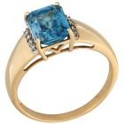 Ring 585GG Zirkon blau Gr. 18 - 15146910401 - 1 - 140px