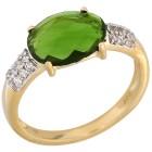 Ring 375GG Chromdiopsid Gr. 21 - 15147310505 - 1 - 140px