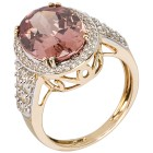 Ring 585GG Zirkon pink Gr. 17 - 15148710301 - 1 - 140px