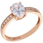 Ring 925 St. Silber rosévergoldet Zirkonia Gr. 20 - 15167310504 - 1 - 140px