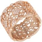 Ring 925 Sterling Silber rosévergoldet Zirkonia Gr. 20 - 15169710403 - 1 - 140px