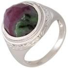 Ring 925 Sterling Silber Rubin Zoisit Gr. 18 - 15190110301 - 1 - 140px