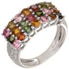 Ring 925 Sterling Silber Turmalin multi Gr.19 - 15202010302 - 1 - 140px