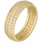Ring 925 Sterling Silber vergoldet Zirkonia Gr. 21 - 15232210404 - 1 - 140px