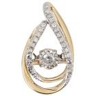 Anhänger 585 Gelbgold Dancing Diamonds - 15236400000 - 1 - 140px