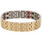 Armband Titan bicolor, 38 Magnete