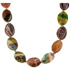 Collier Achat multicolor
