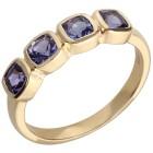 Ring 585 Gelbgold AAAATansanit  Gr. 20 - 15299810404 - 1 - 140px