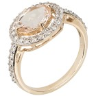 Ring 375 Gelbgold Pink Morganit, Zirkon Gr. 20 - 15302210303 - 1 - 140px