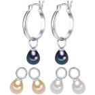 Valero Pearls Perlenohrcreolen Sterling Silber - 19526500000 - 1 - 140px