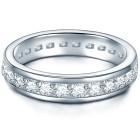 Tresor 1934 Silberring mit Zirkonia Ringgröße 58 - 19529410605 - 1 - 140px