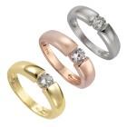 ZEEme Silver Ring 925/- Sterling Silber Zirkonia Ringgröße 058 (18,5) - 19541510504 - 1 - 140px