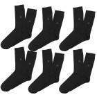 6er Set PIERRE CARDIN Herren Socken, schwarz