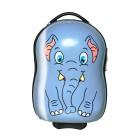 Packenger Kinderkoffer Elefant, blau