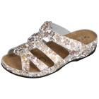 Dr. Feet Damen Leder-Pantolette, weiß Größe 42 - 35750010707 - 1 - 140px