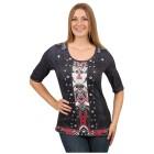 "BRILLIANTSHIRTS Damen-Shirt ""Perfekt Paisley"" 40/42 - 37212110402 - 1 - 140px"