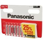 10er Set Panasonic AAA