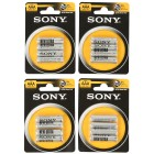 24x Sony Batterien AAA