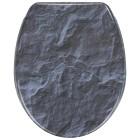 WENKO WC-Sitz Slate Rock, mit Absenkautomatik - 59601800000 - 1 - 140px