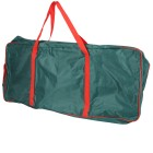 Geschenkpapier-Tasche, grün/rot