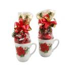 Weihnachts-Tassen 2er Set
