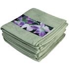 Premium Handtuch 4er Set, Orchideenbordüre - 68074500000 - 1 - 140px